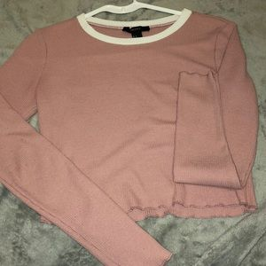 🔥Forever21 long sleeve crop top